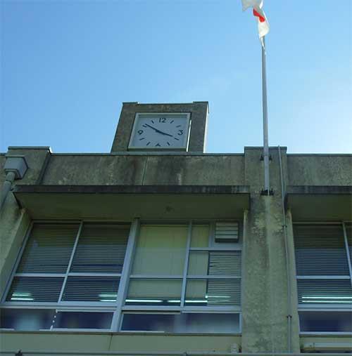 小学校時計1
