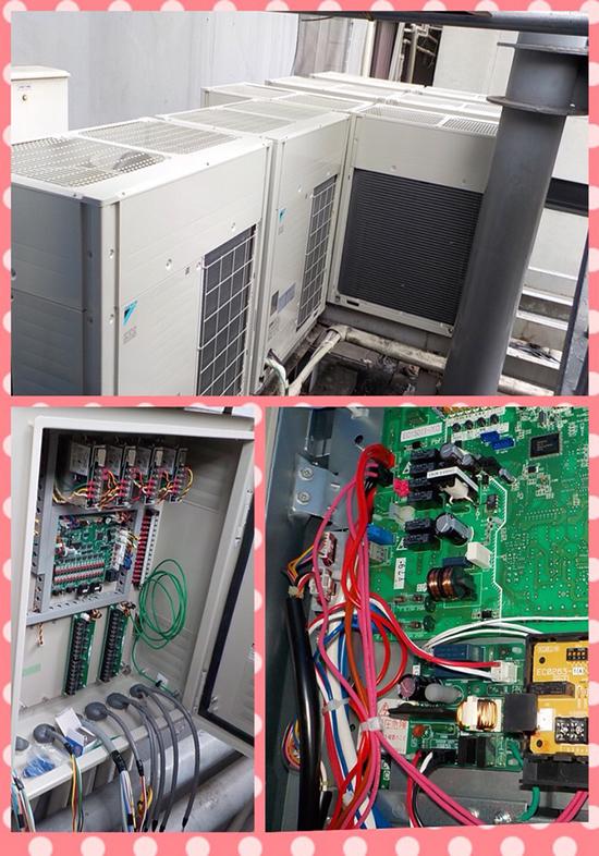 空調デマンドコントロール設置